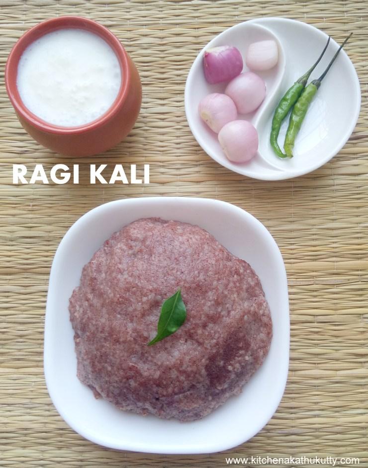 Ragi Kali Recipe
