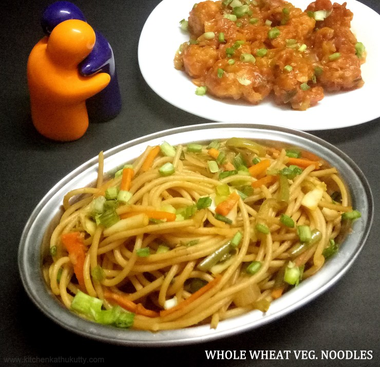 Whole Wheat Veg. Noodles