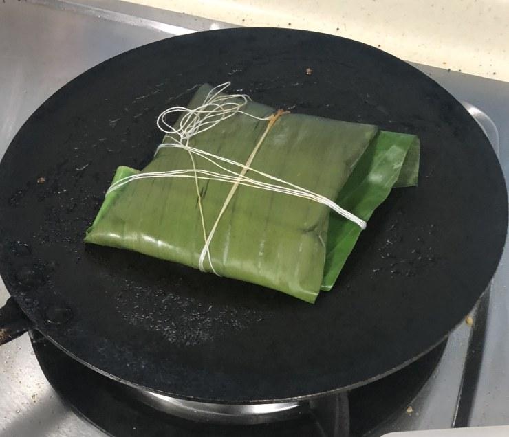 tofu polichathu
