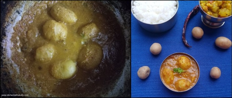 Chettinad Urulai Curry
