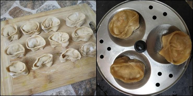Wheat Tofu Momos/Wheat Momos