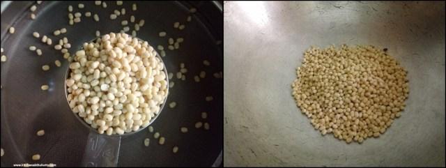 Homemade Urad Dhal Flour Recipe