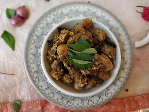 Mushroom Uppu Kari/Kaalaan Uppukari