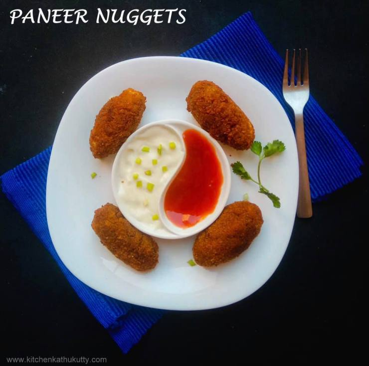 paneer nuggets recipe