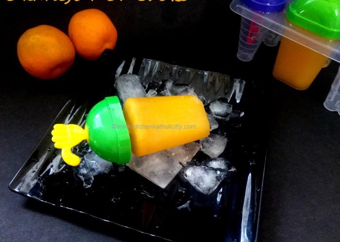 orange popsicle recipe