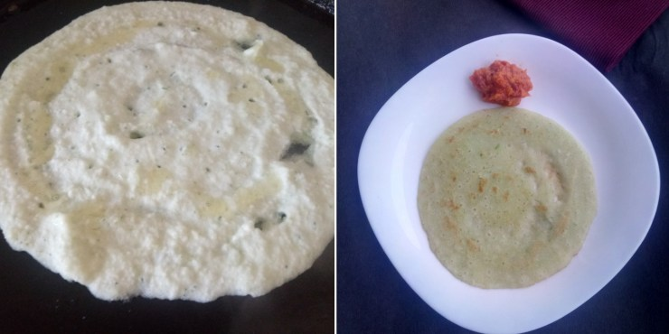 Cucumber Dosa Recipe
