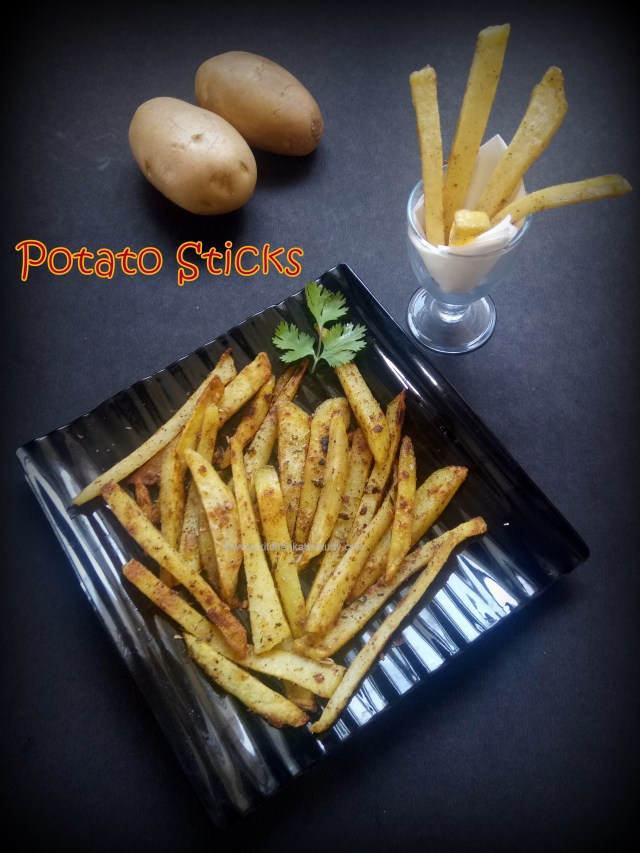 no bake potato wedges recipe