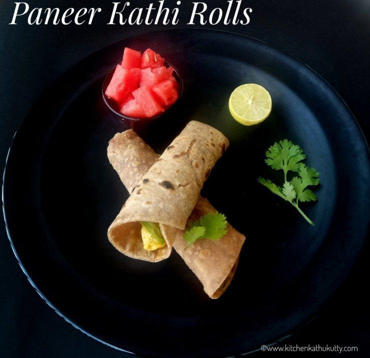 Paneer Kathi Roll Recipe|Paneer Frankie|Paneer Wrap Recipe
