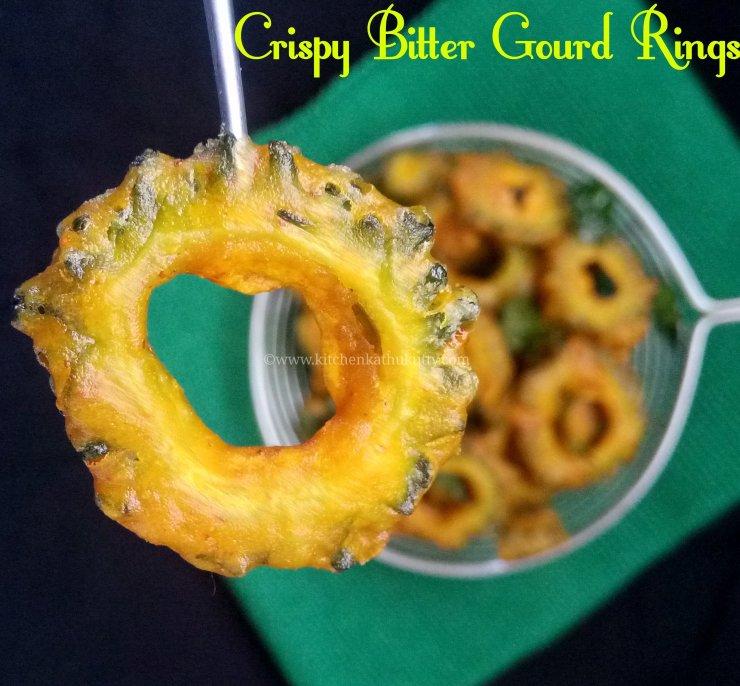 Crispy Bitter Gourd Rings Recipe