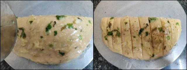 Dominos Style Stuffed Garlic Bread Recipe