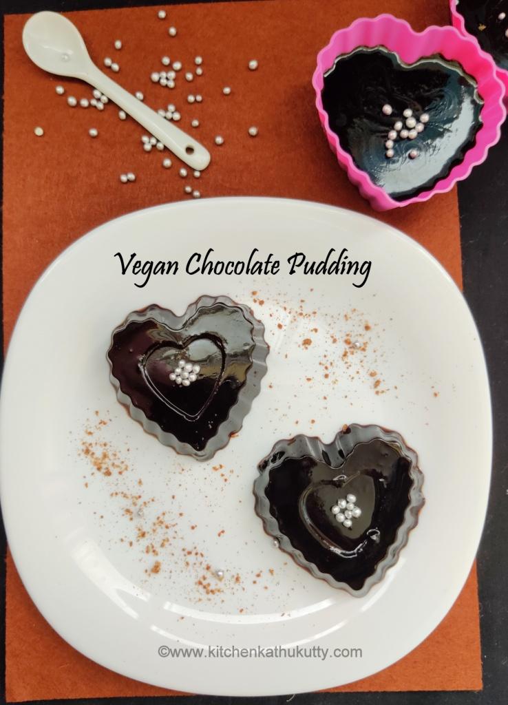 Vegan Chocolate Pudding recipe