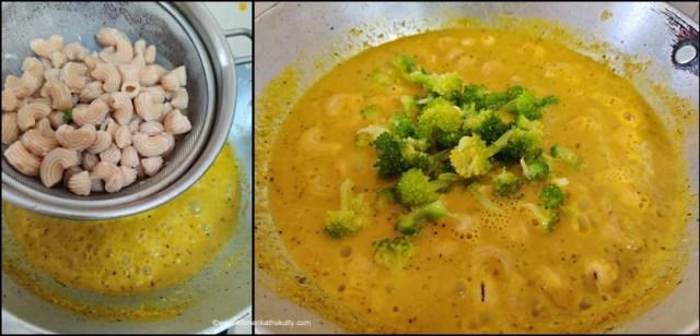 Yellow Sauce Pasta Recipe