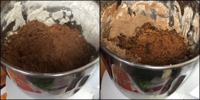 ragi sweet potato brownie
