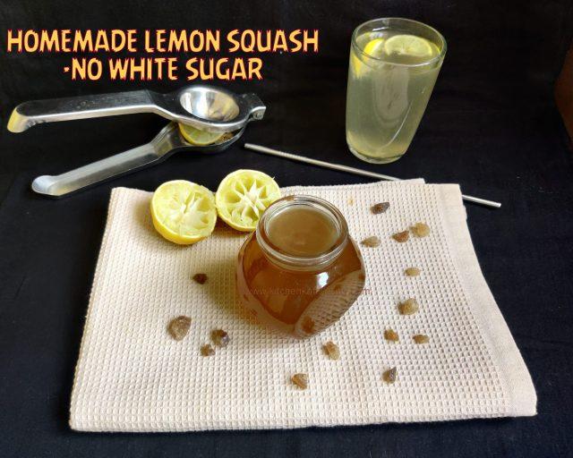 no white sugar lemon juice
