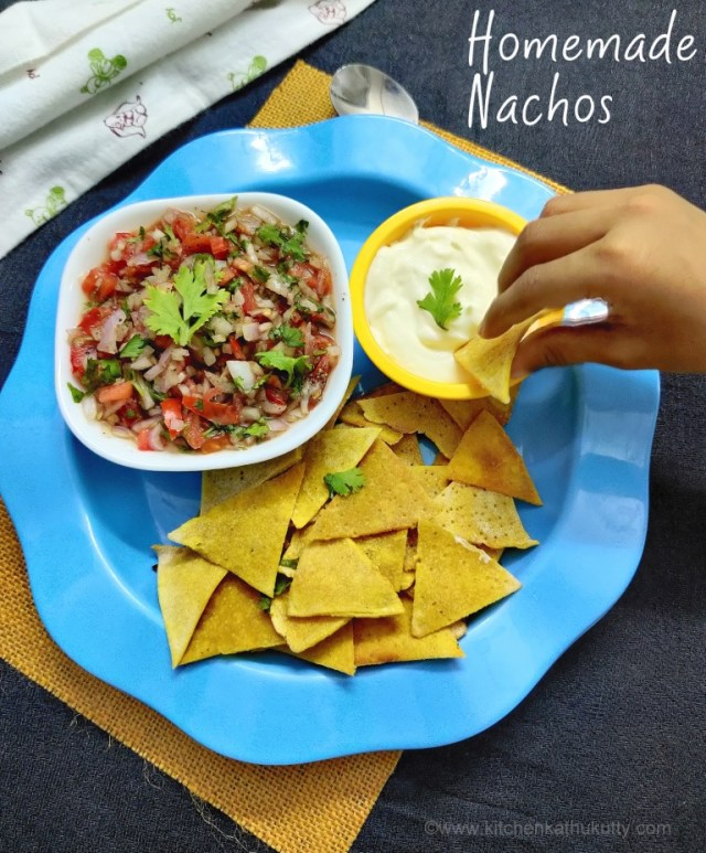 homemade nachos from scratch