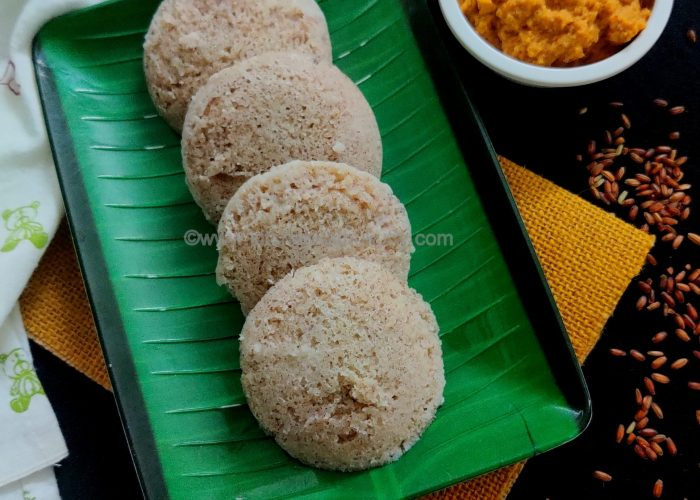 Poongar Rice Idli Recipe