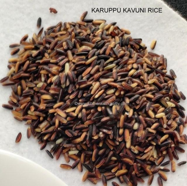 Karuppu Kavuni Rice