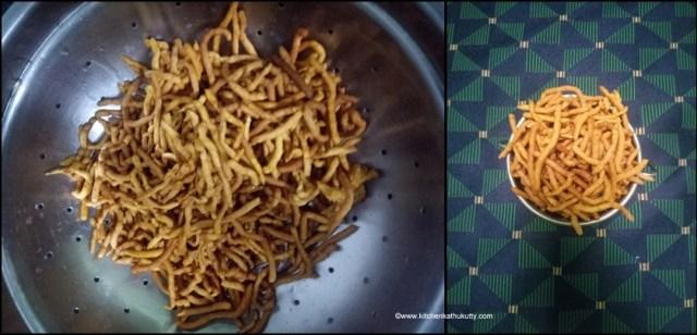 Kara Sev Recipe