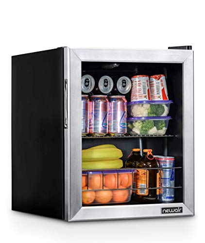 NewAir NBC060SS00 Beverage Cooler and Refrigerator Holds up to 60 Cans Perfect for Beer Wine or Soda