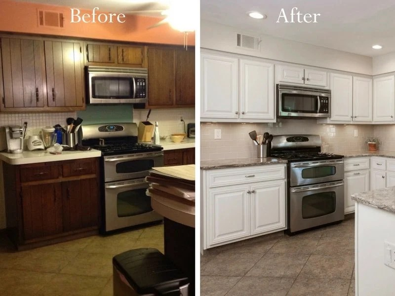 Think A Big Transformation Isnt In Your Budget Cabinet Refacing Delivers A Wow Worthy Change At A Fraction Of The Price For New Cabinetry