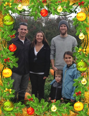 Justin Kroeker  and family of Kitchen Magician