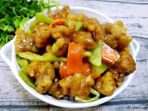 溜肉段 – Sweet & Sour Pork Strips