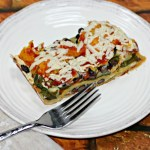 Layered Vegetable Tortilla Casserole