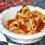 Marcella Hazan's Tomato Sauce (With Grain-Free Fettuccine)