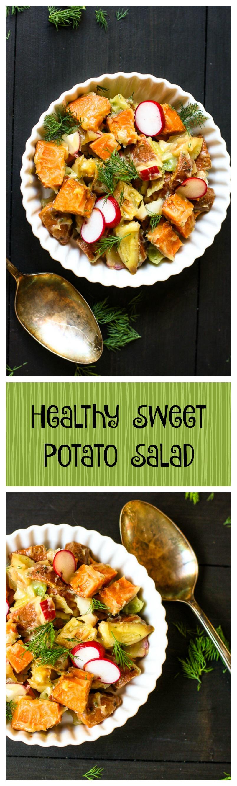 healthy sweet potato salad