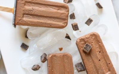 Chocolate Banana Dairy-Free Fudgesicles