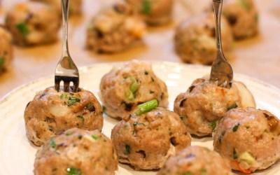 Dumpling Meatballs