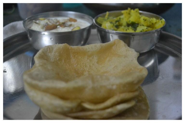Aloo Bhaji and Poori recipe