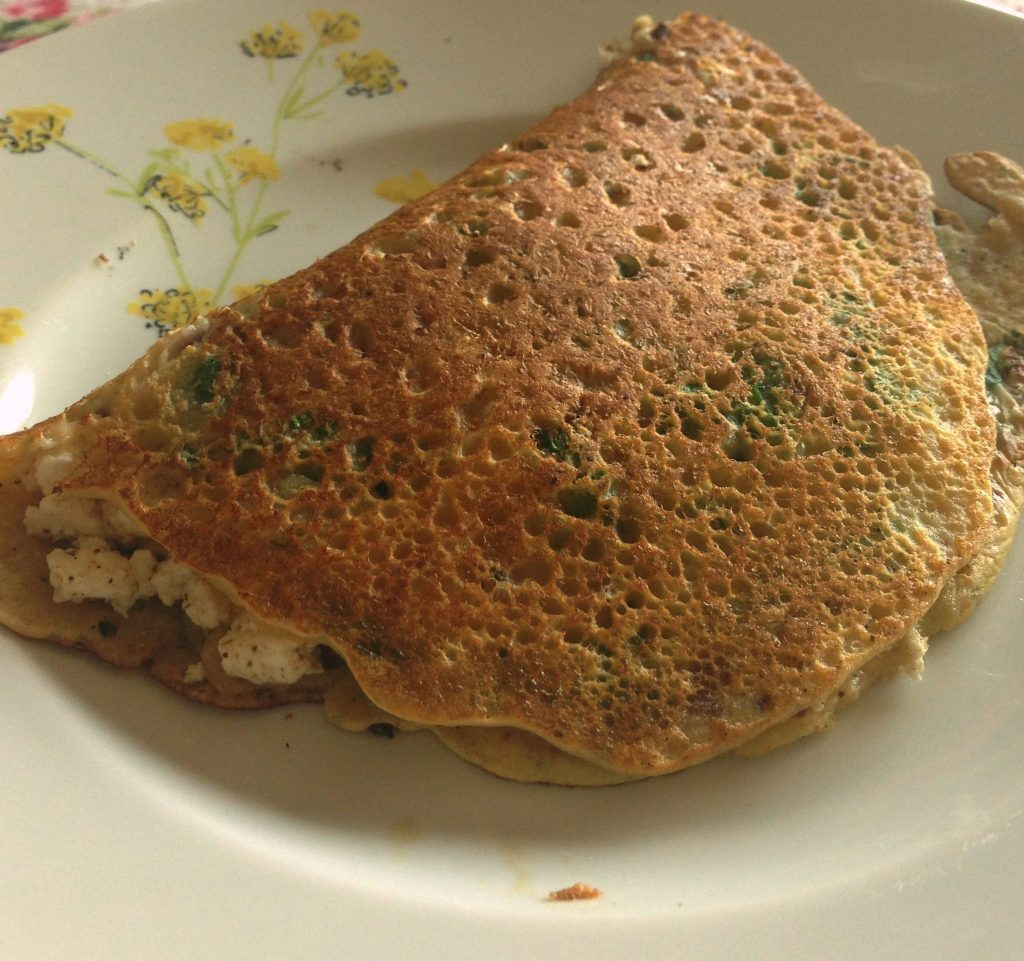 Gram Flour Pancakes