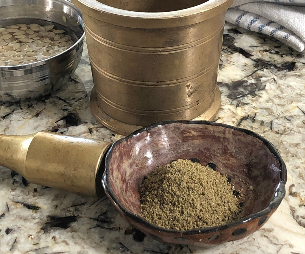 Spice blend for thandai