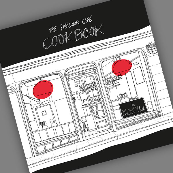 cover of the Parlour Cafe Cookbook