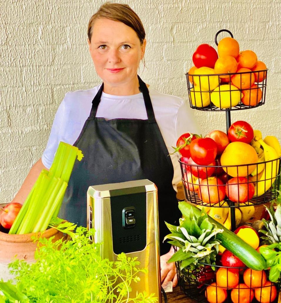 Portrait of Gillian Veal Kitchen Quiz