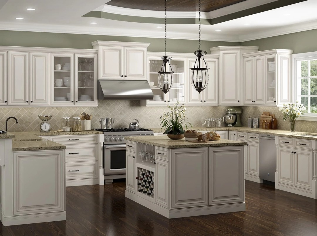 Casselberry Kitchen Cabinet in Saddle Stain - Kitchen Envy Cabinets