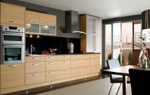 Kitchen Space Layout Example