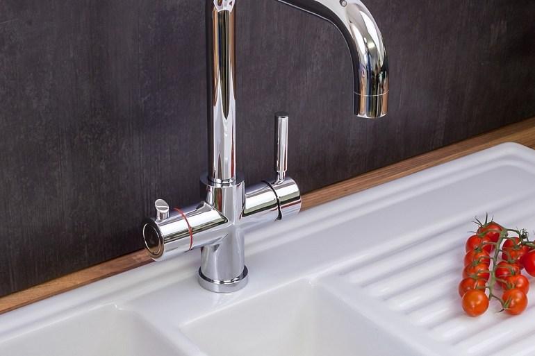 Reginox Amanzi hot water tap