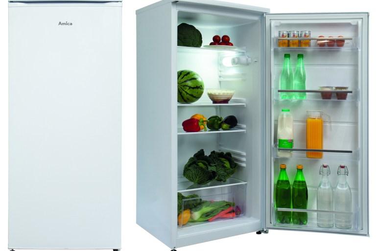 Amica larder fridge