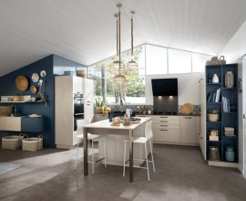 Schmidt Major Blue Kitchen