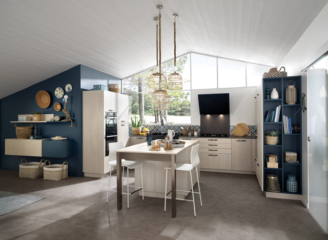 Schmidt Major Blue Kitchen