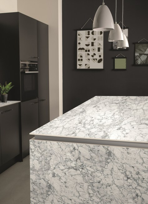 Bushboard Evolve solid core ultra-slim kitchen worksurfaces