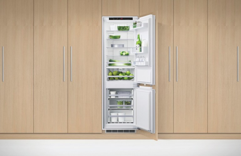 Fisher paykel 60cm integrated fridge