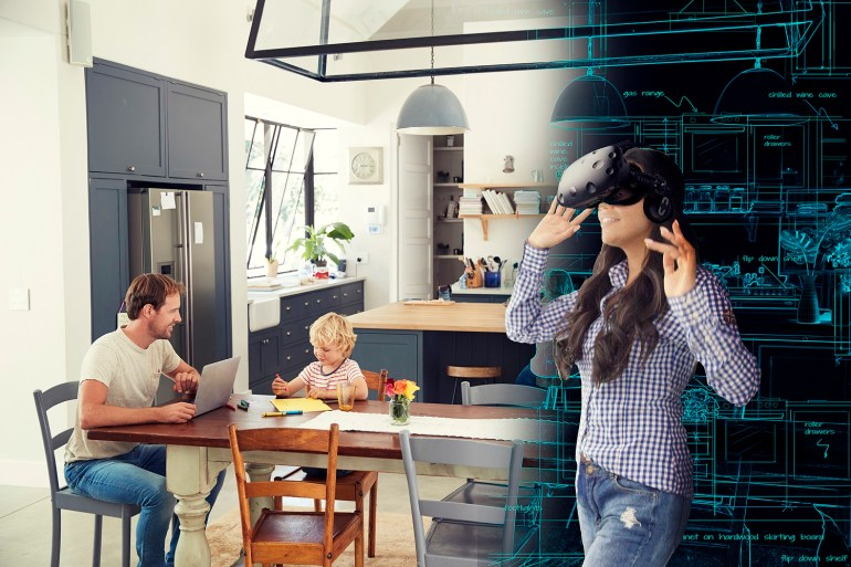 Grand Designs Virtual Worlds 4D Theatre Dream Kitchen
