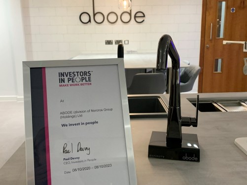 Abode awarded Investors in People accreditation
