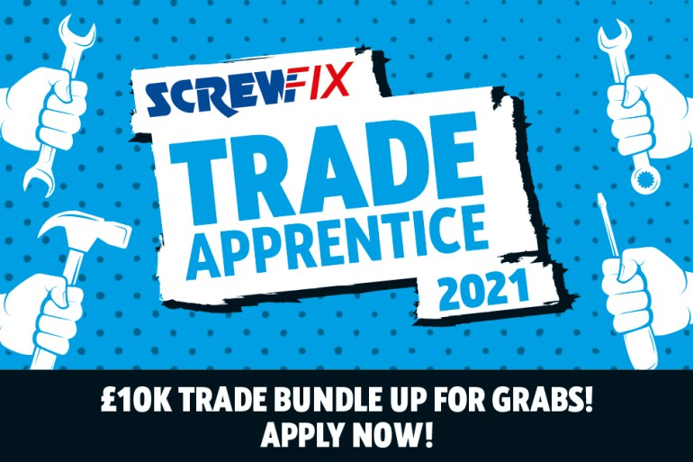 Screwfix Trade Apprentice Award