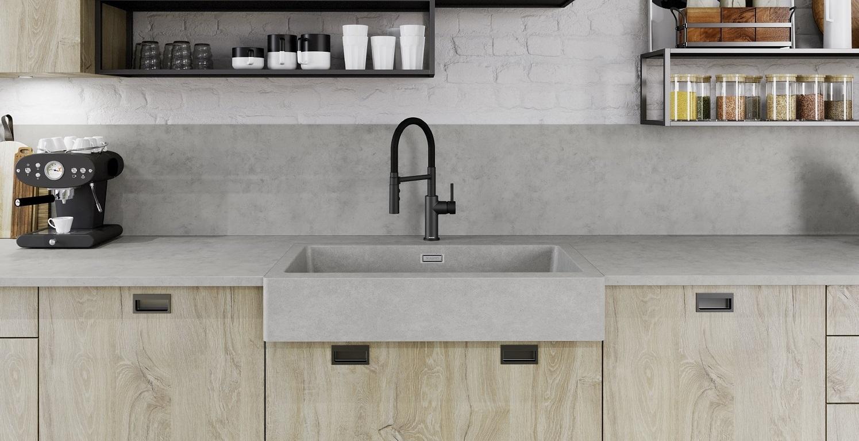 Blanco Vintera Concrete Sinks