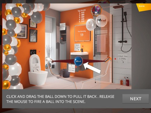 VW Ideal Bathrooms Game