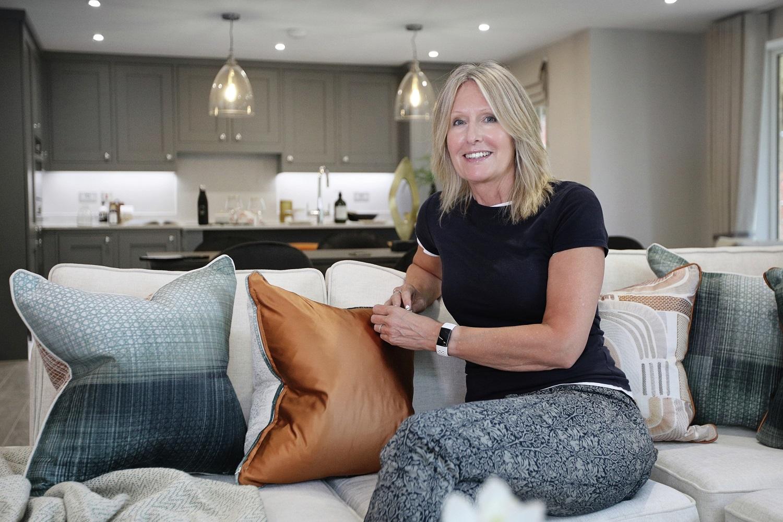 Dapa Interiors showhome interior designer A day in the life Rebecca Harris